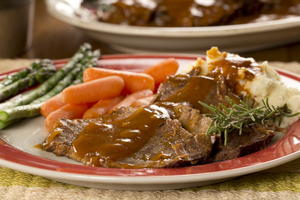 Slow Cooker County Pot Roast