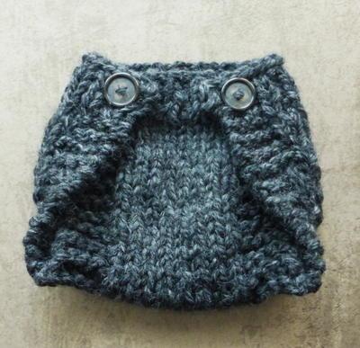 Knitted Newborn Diaper Cover Tutorial AllFreeKnitting.com