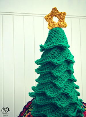 Easy crochet christmas tree