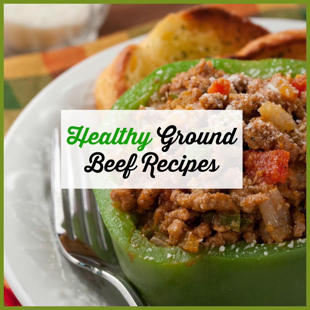 healthy ground beef recipes - easy ground beef recipes | mrfood