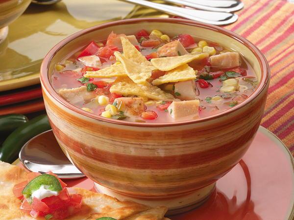 Mexican Tortilla Soup   MrFood.com