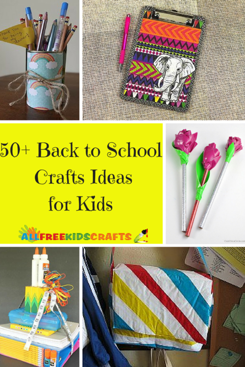 50+ Back to School Crafts Ideas for Kids