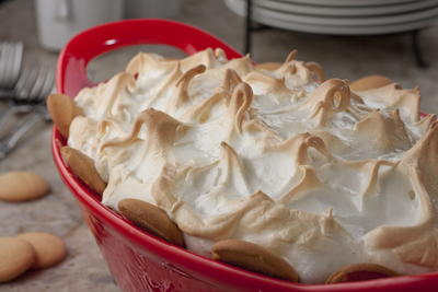 New Fashioned Banana Pudding