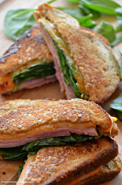 Grown-Up Grilled Cheese Sandwich | RecipeLion.com