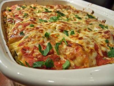 Delicious Artichoke Lasagna