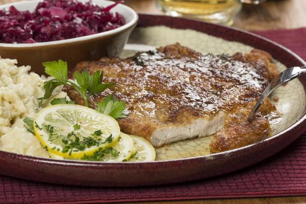 how to cook pork schnitzels