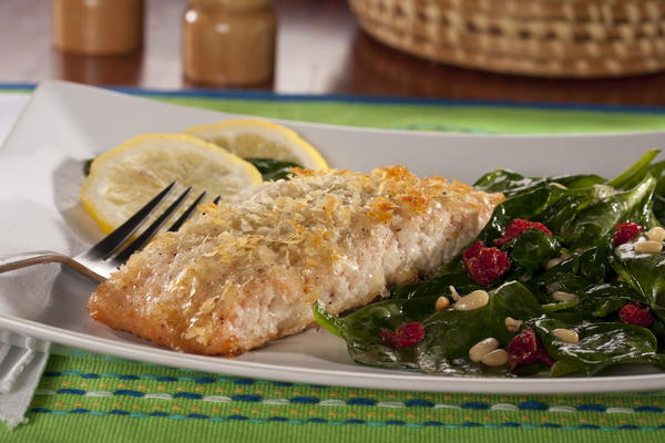 Potato Crusted Salmon Free Recipe Network