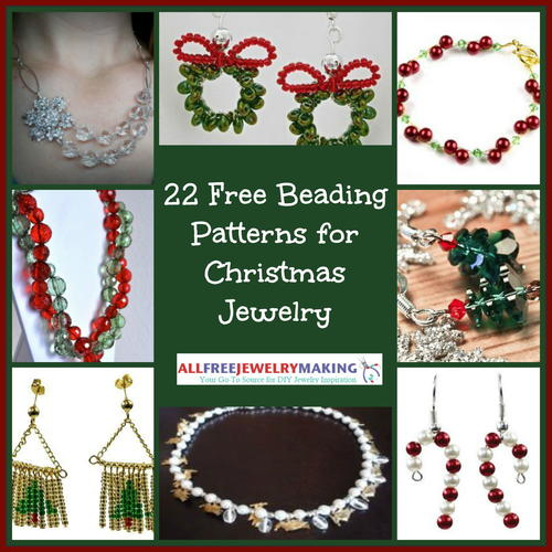22 Free Beading Patterns for Christmas Jewelry