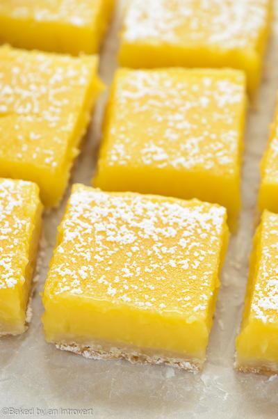 Classic Lemon Bars | FaveSouthernRecipes.com