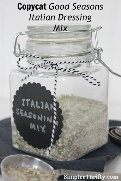 Homemade Good Seasons Italian Dressing Mix | AllFreeCopycatRecipes.com