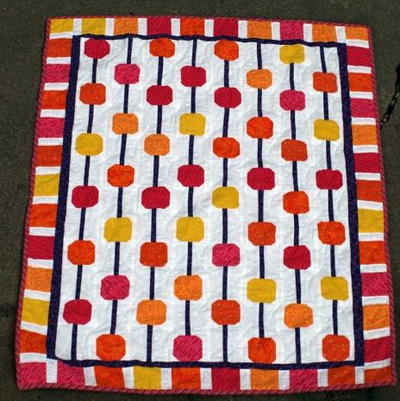 Abacus Baby Quilt