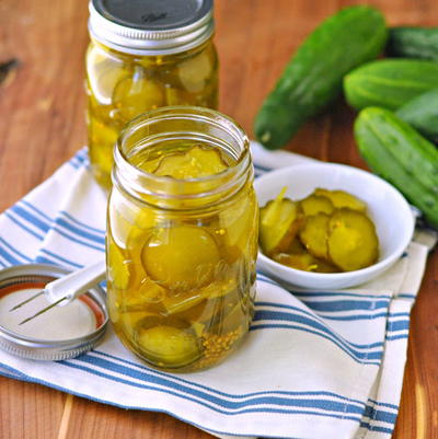 try and make these easy and delicious Bread and Butter Pickles ...
