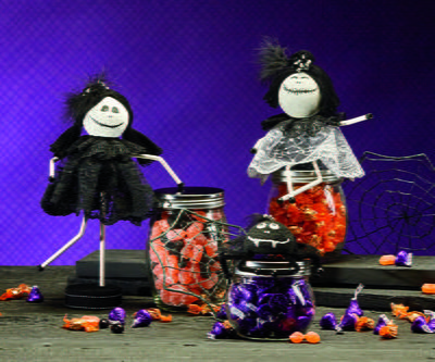 Candy Jar Skeletons