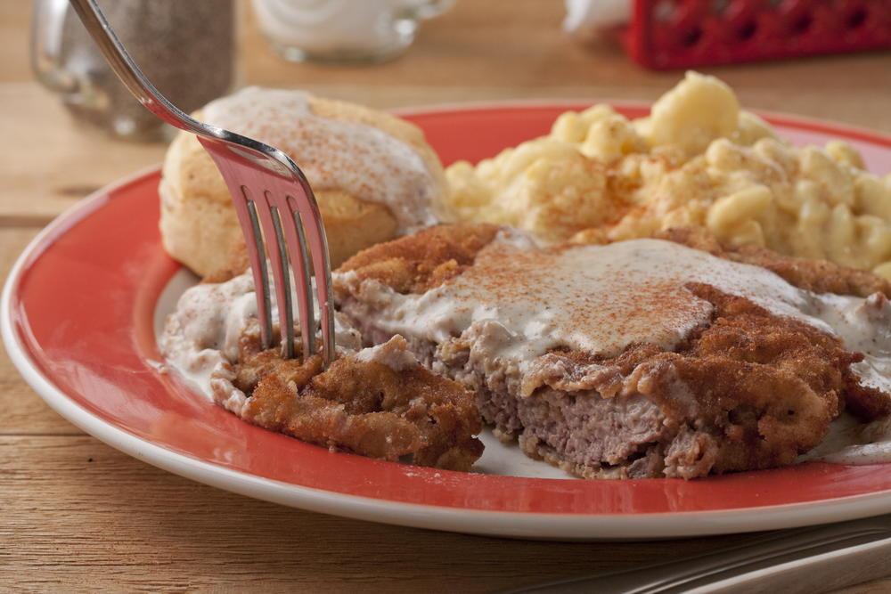 Redneck Chicken Fried Steak Mrfood Com