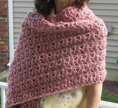 Crochet Patterns Prayer Shawls : Princess Diana Crochet Shawl