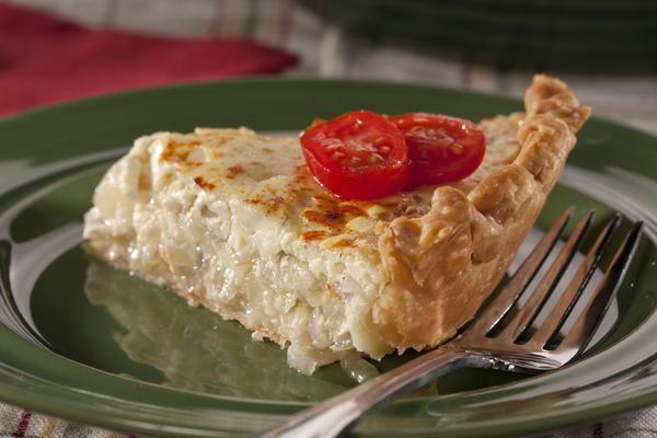 Creamy Onion Pie   MrFood.com