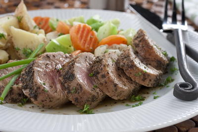 Seared Pork Tenderloin