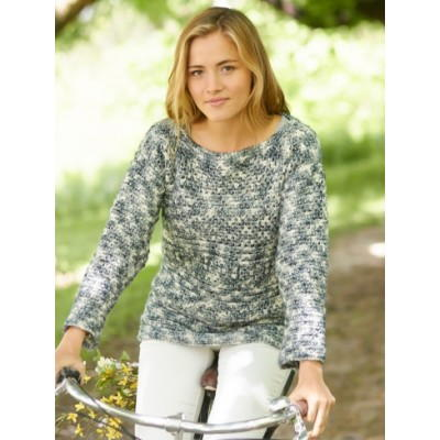 Free Crochet Pattern Sweater Pullover : Warm and Cozy Crochet Pullover
