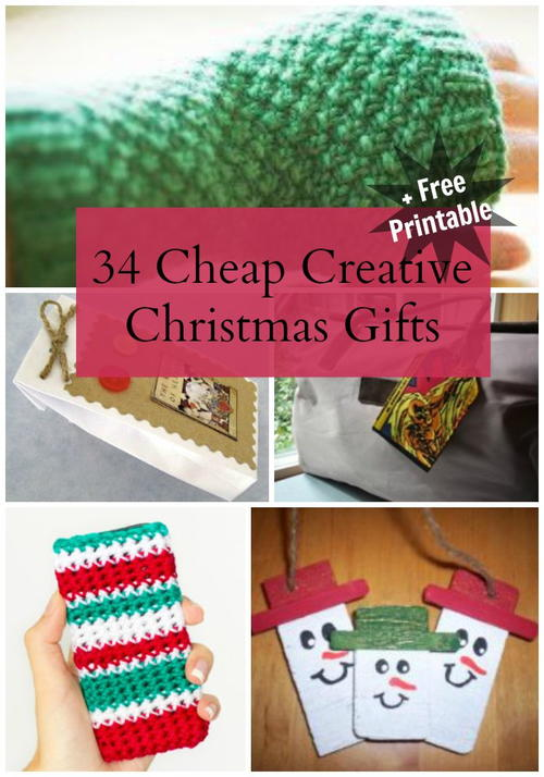 34 Cheap Creative Christmas Gifts