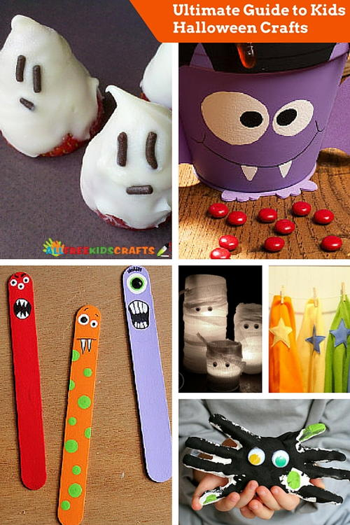 Ultimate Kids Halloween Crafts Guide