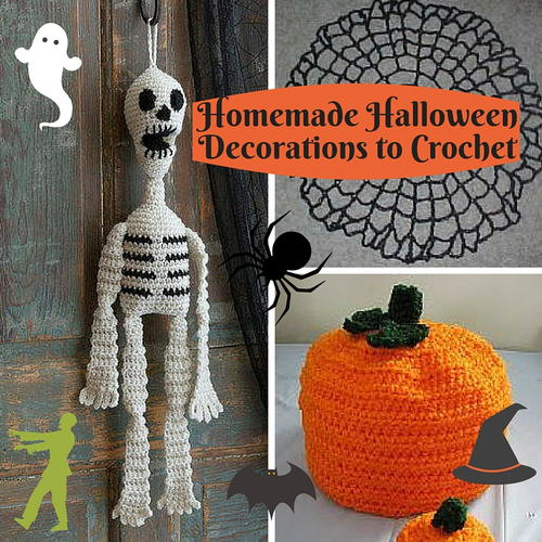 Homemade Halloween Decorations to Crochet