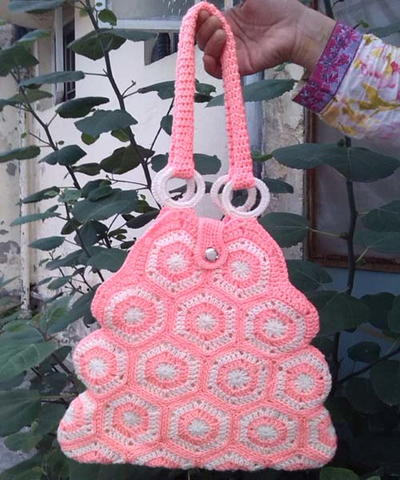 Hexagon Crochet Bag Pattern : crochet patterns click here to view your crochet patterns you must be ...