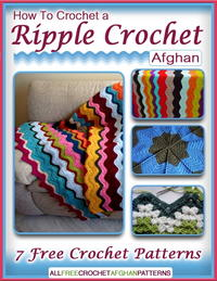 How to Crochet a Ripple Crochet Afghan eBook