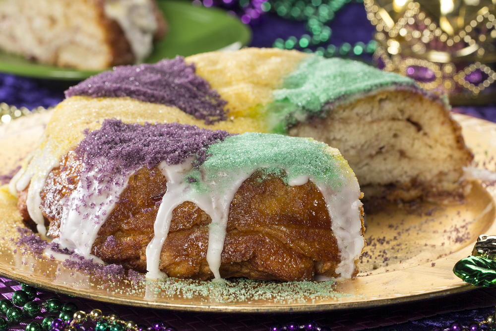 14 quick easy mardi gras recipes mrfood mardi gras king cake forumfinder Gallery