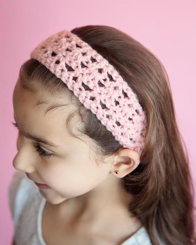 Simple Crochet Headband Free Pattern : 20 Minute Headband
