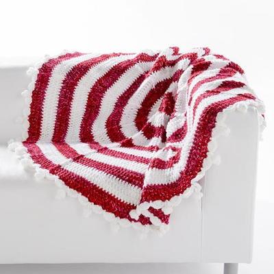 Crochet Pattern For Peppermint Afghan : Peppermint Stick Afghan AllFreeCrochetAfghanPatterns.com