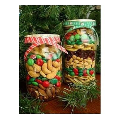 Christmas Treat Jar DIY Christmas Gift