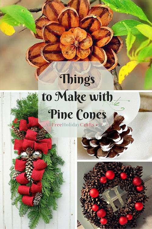 Pine Cone Crafts 14 Things To Make With Cones