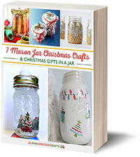 7 Mason Jar Christmas Crafts and Gifts in a Jar