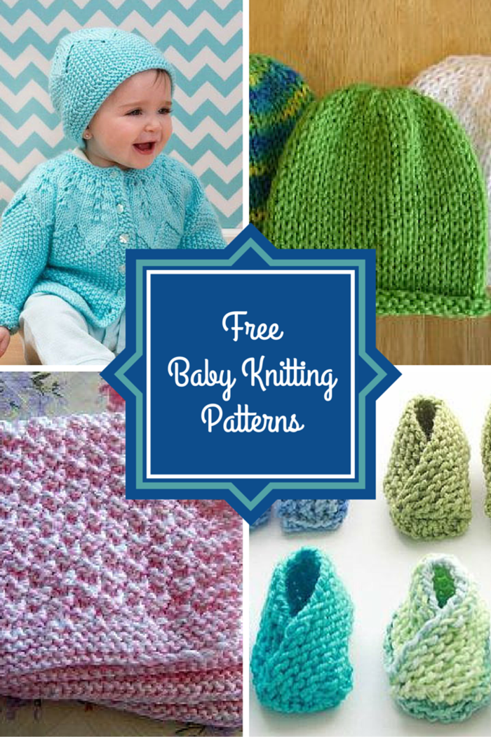 48 Free Baby Knitting Patterns
