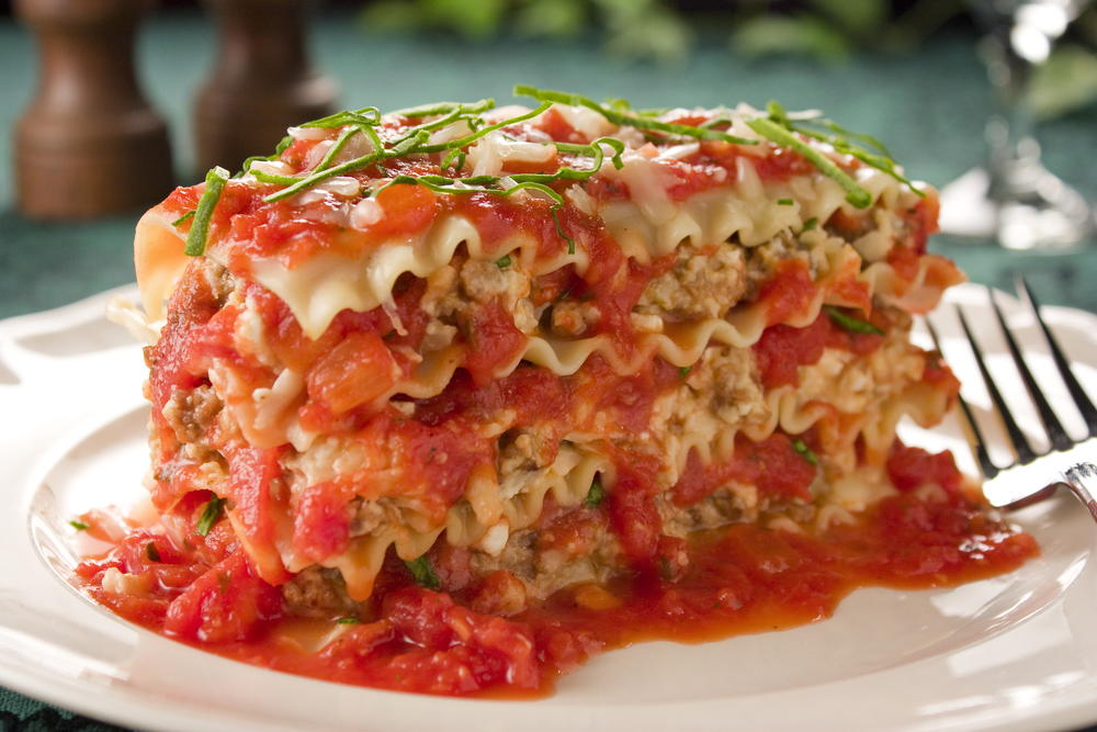 Tasty recipes for food around the world mrfood worth the wait lasagna forumfinder