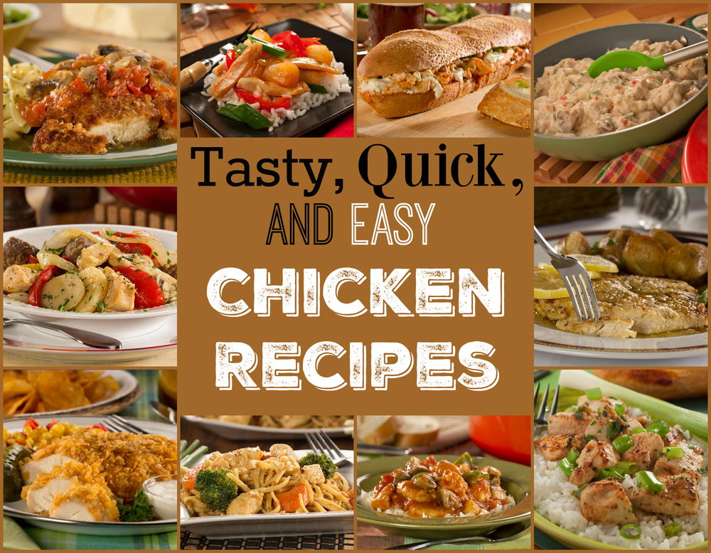 14 Tasty Quick Easy Chicken Recipes Mrfood
