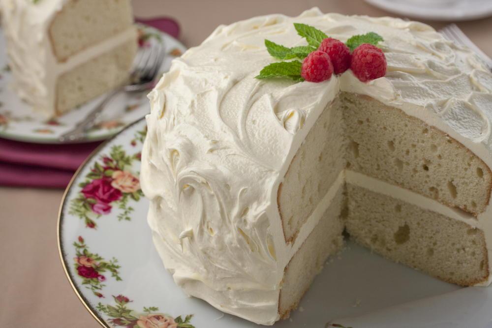 White Velvet Cake Mrfood Com