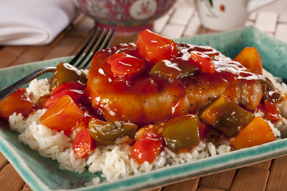 Sweet and sour pork chops mrfood forumfinder Image collections