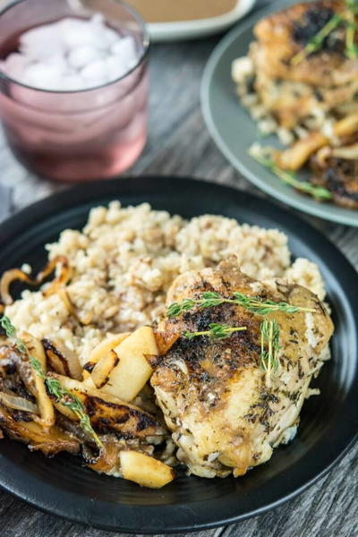 Slow Cooker Chicken with Caramelized Apples and Onions ...