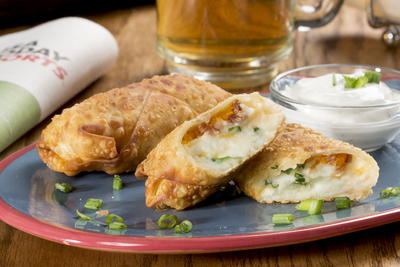 Loaded Potato Roll Ups