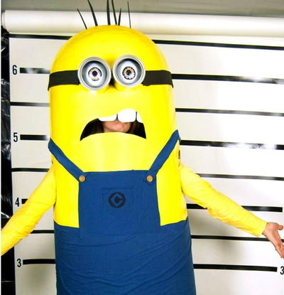 how to make a minion costume for kids