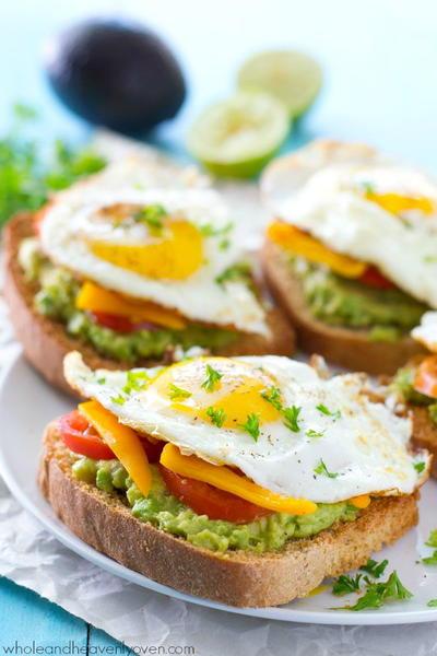 California Omlette Toast