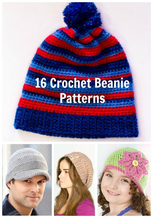 16 crochet beanie patterns table of contents crochet beanie pattern ...
