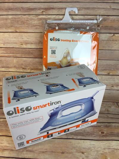 Oliso SmartIron and Ironing Board Cover Bundle