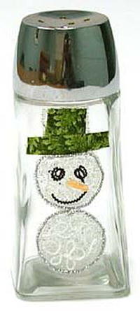 Snowman Salt N Pepper Shaker