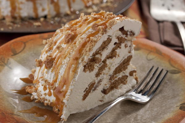 Maple-Ginger Icebox Cake
