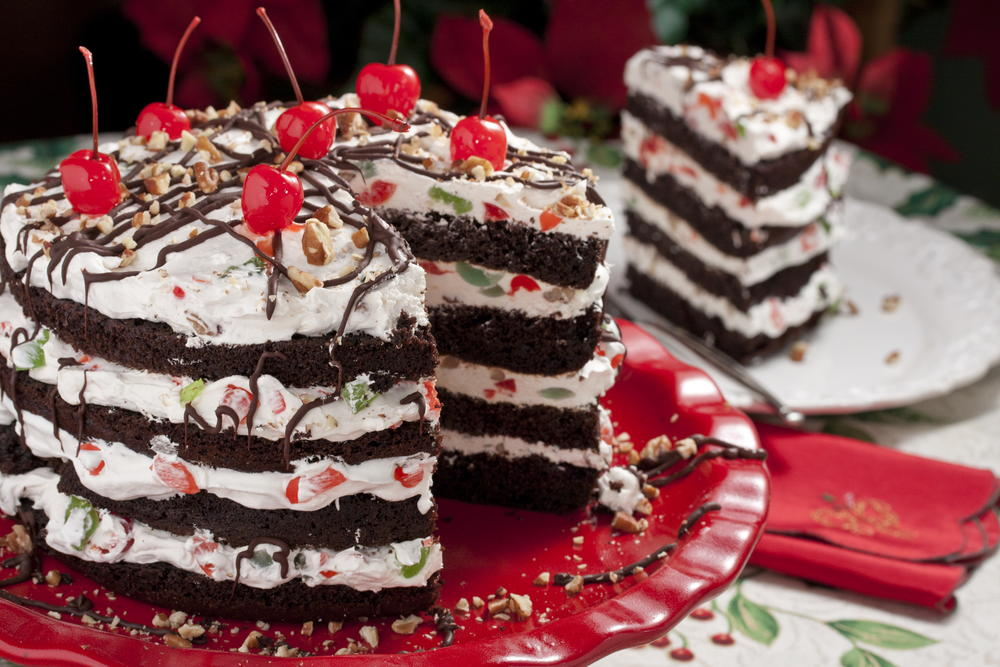 jingle bell torte mrfoodcom - Best Christmas Dessert