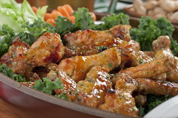 Crispy Honey Mustard Wings