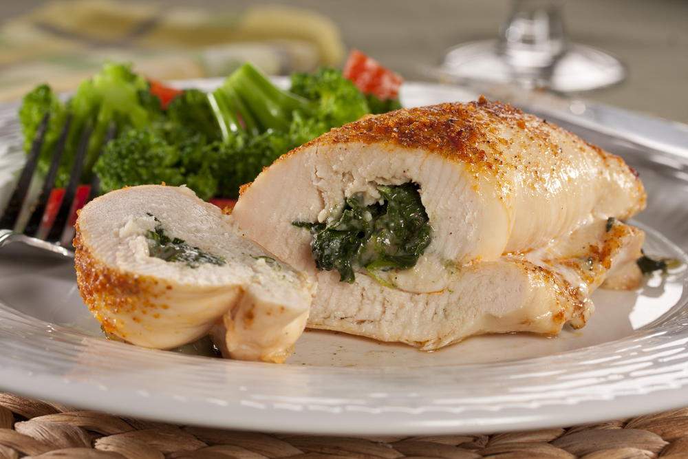 Spinach Parmesan Stuffed Chicken Everydaydiabeticrecipes Com