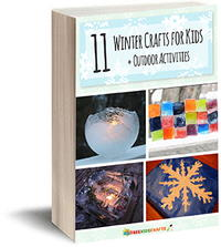 11 Winter Crafts for Kids plus Outdoor Activities